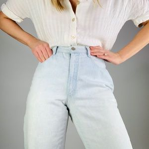 Vintage CK Sport High rise tapered leg mom jeans